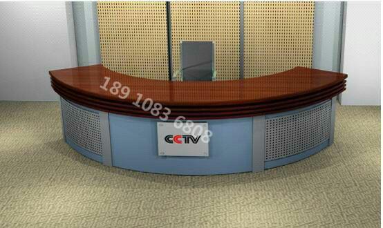 媒体室演播桌 导播桌 录音桌 非编台