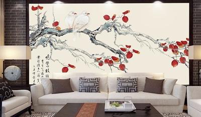 壁画网咖壁画墙纸