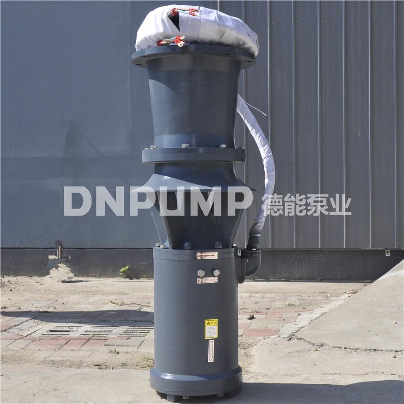 园区排污泵站用泵350QZB-70型潜水轴流泵