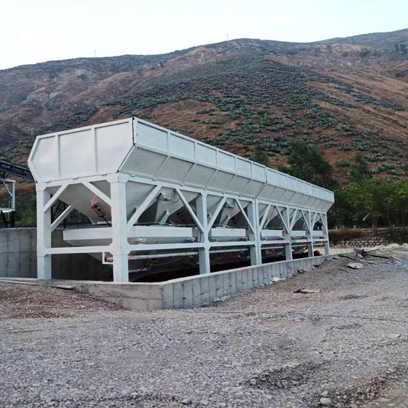 厂家出售卧式水泥仓100吨环保可移动免基础全国供应