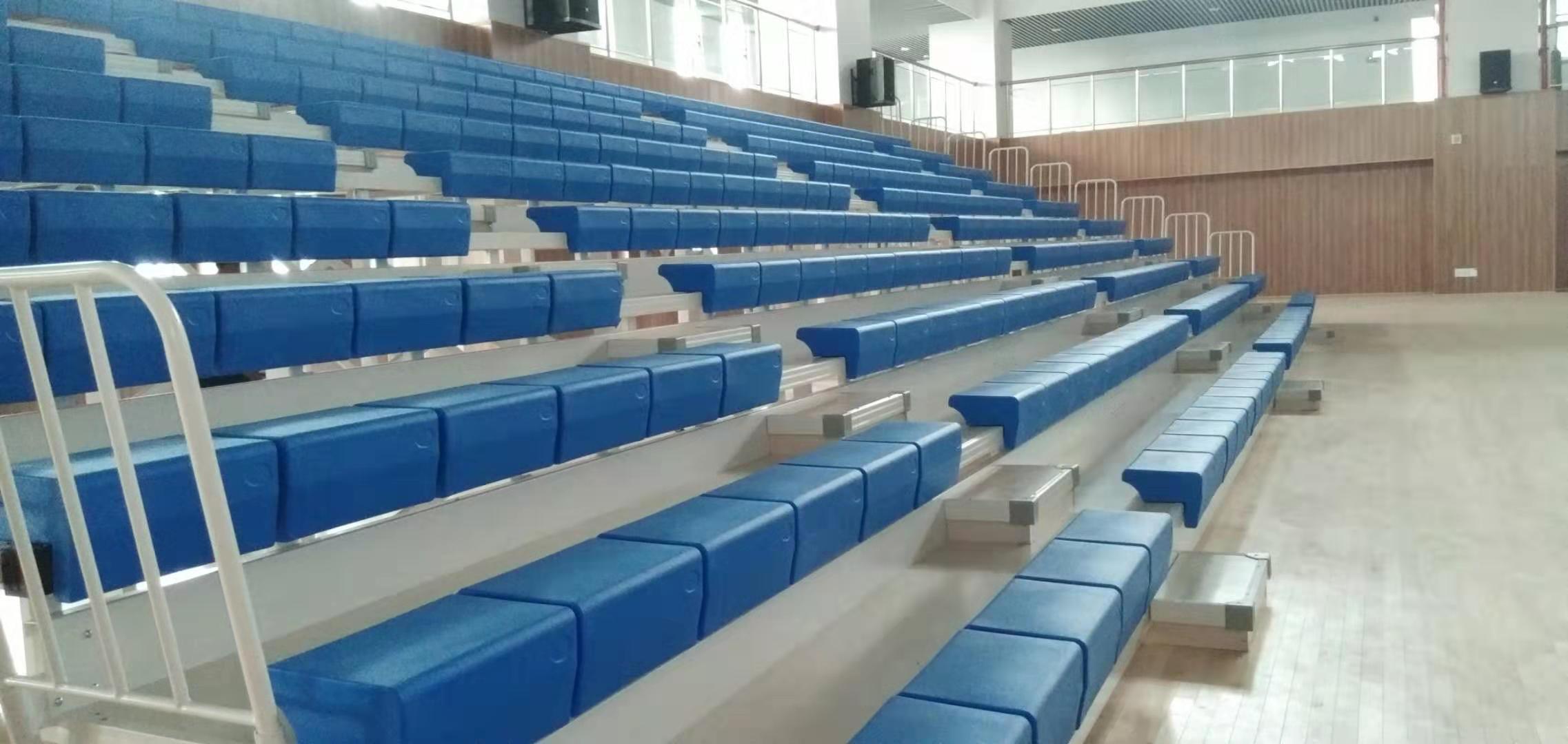 广西扶绥学校室内体育馆坐椅看台
