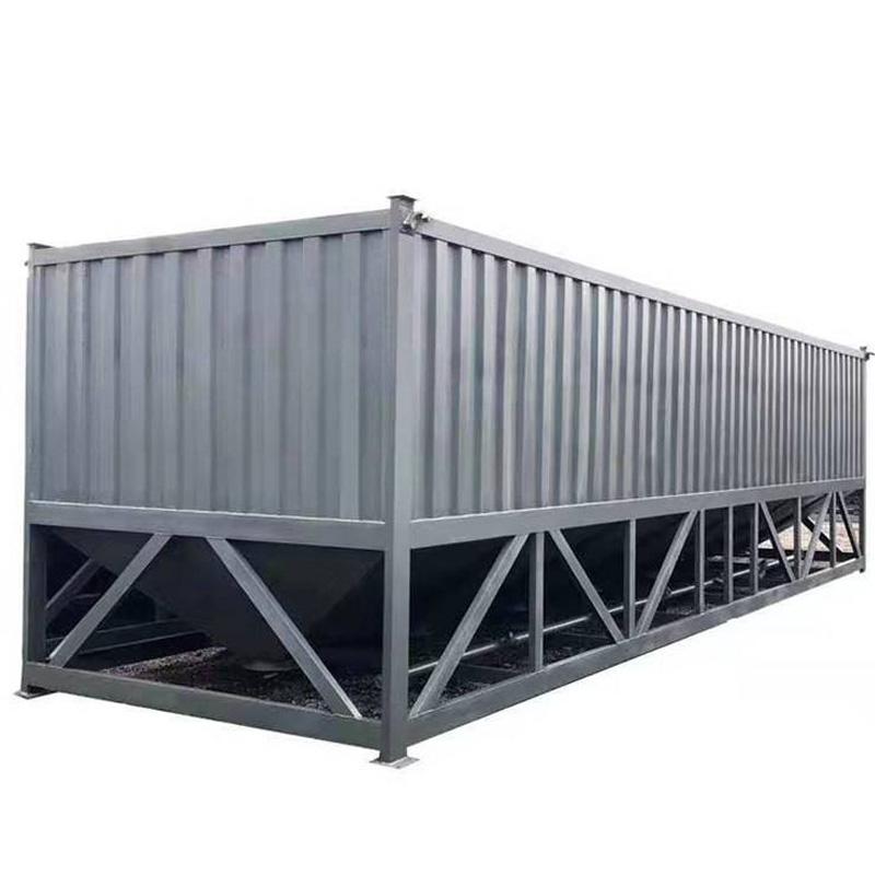 现货卧式水泥仓100T移动混凝土搅拌站搭配即买即用热卖