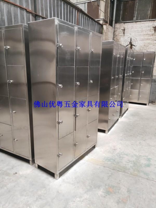 广东不锈钢储物柜304不锈钢两层柜不锈钢文件柜工厂定制