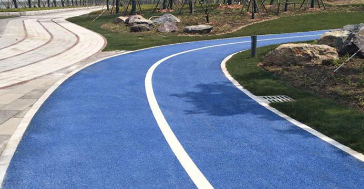 透水混凝土路面施工方案-彩色透混凝土地坪施工