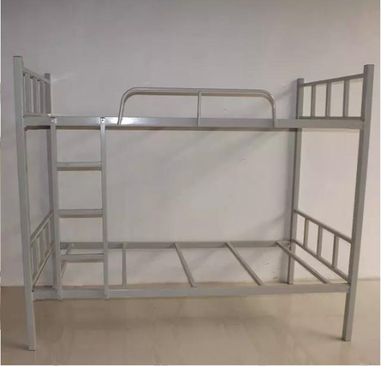 员工上下铺铁架床 东莞康胜铁床厂家 员工宿舍上下铺铁床