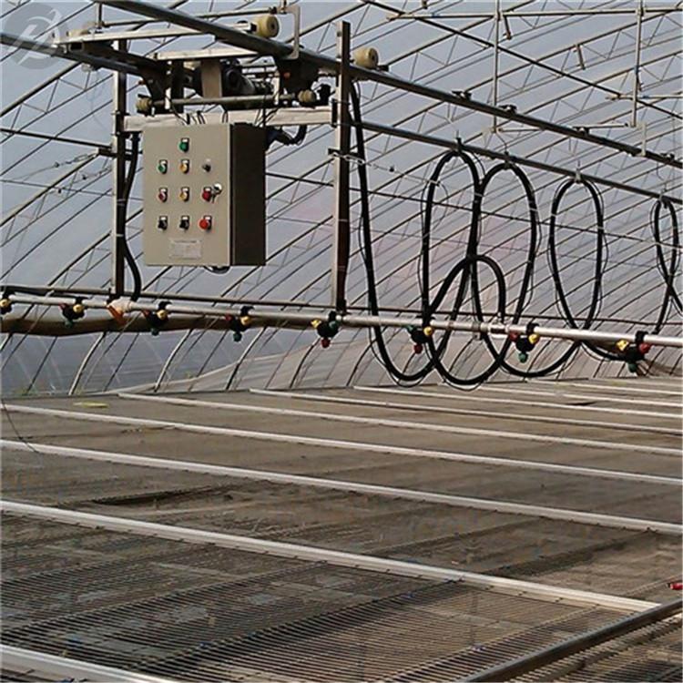 温室自走喷灌机工作原理和配置说明