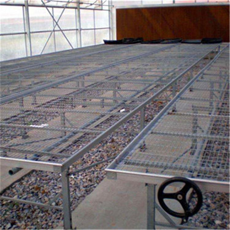 网格苗床网 花卉种植移动苗床厂家
