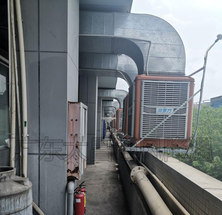 手袋厂、箱包厂环保空调降温方案