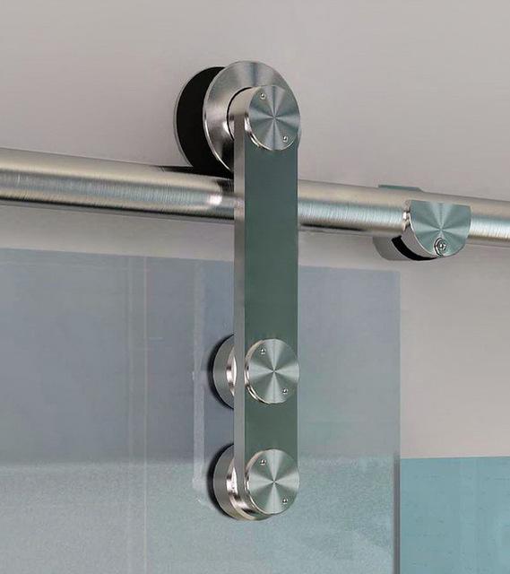 德國品質不銹鋼吊輪辦公室玻璃移門滑輪01A順暢不銹鋼滑輪