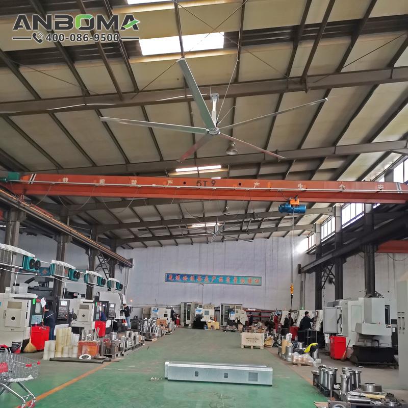 臺州節能工業大風扇 麗水大型工業吊扇廠家 工廠車間通風降溫除濕防霉