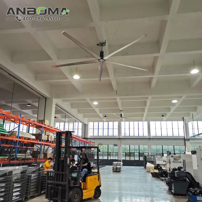 臺州節能工業大吊扇 麗水大型工業風扇廠家  倉儲物流通風降溫除濕防霉