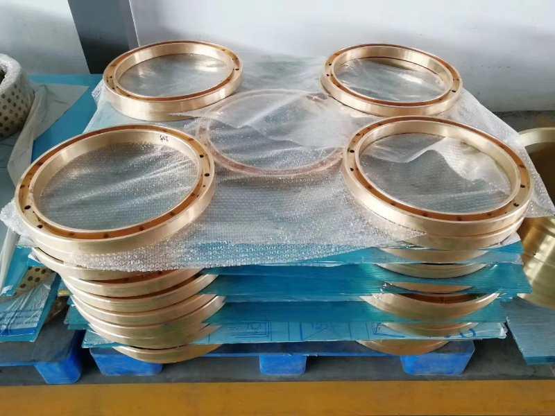 批量生產風電機組增速齒輪箱銅環