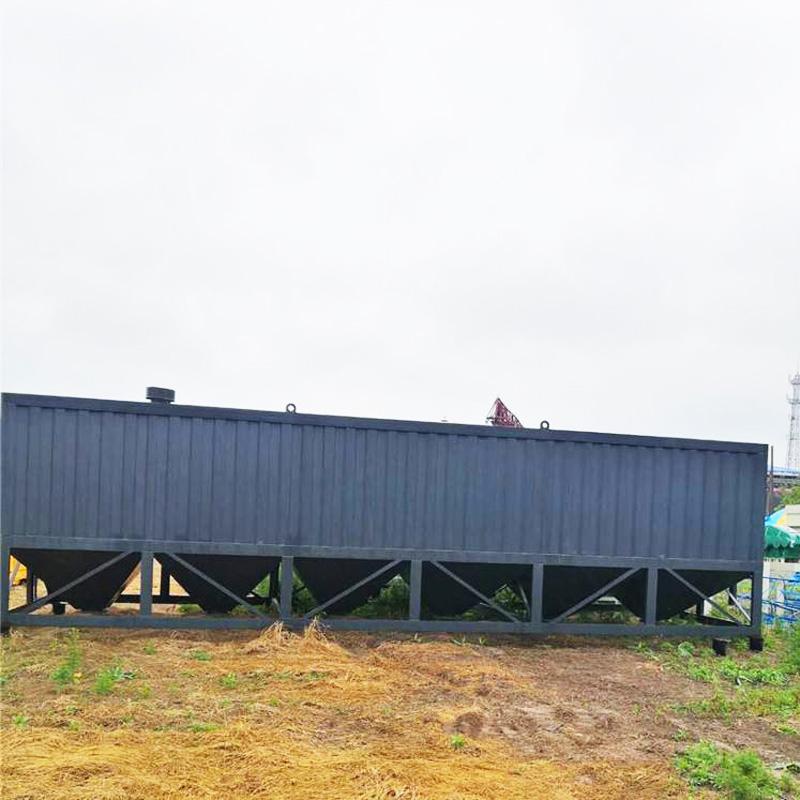 环保卧式水泥仓80吨100吨免基础现货即买即用