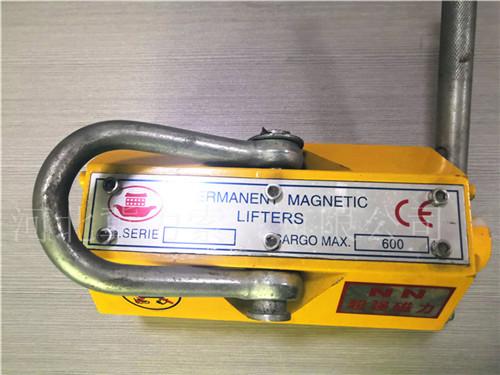 圆形矩形永磁吸盘—永磁起重器手柄扳不动