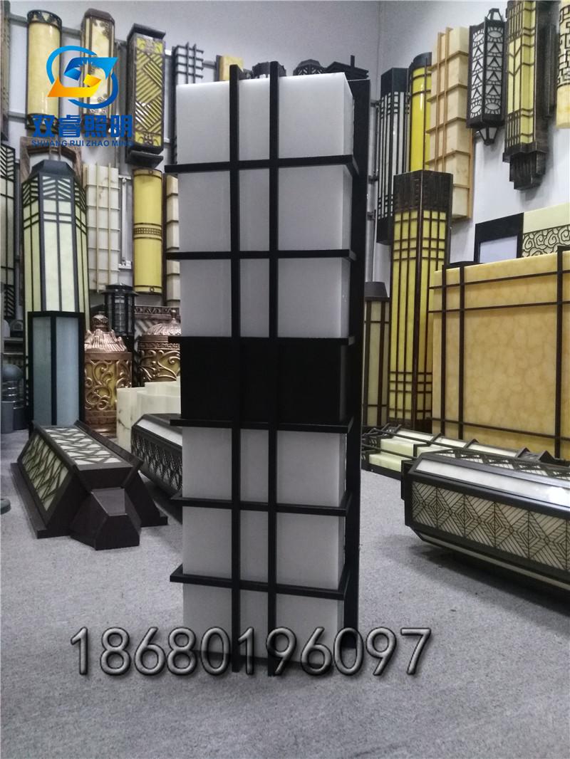 長方形壁掛燈小區別墅外墻燈新中式壁燈小區別墅單元門燈