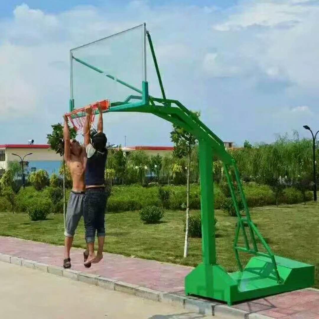 广西篮球架厂家 横县移动篮球架低价销售