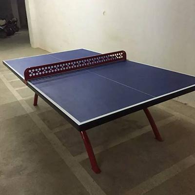 防雨防晒乒乓球台 横县户外标准比赛乒乓球台