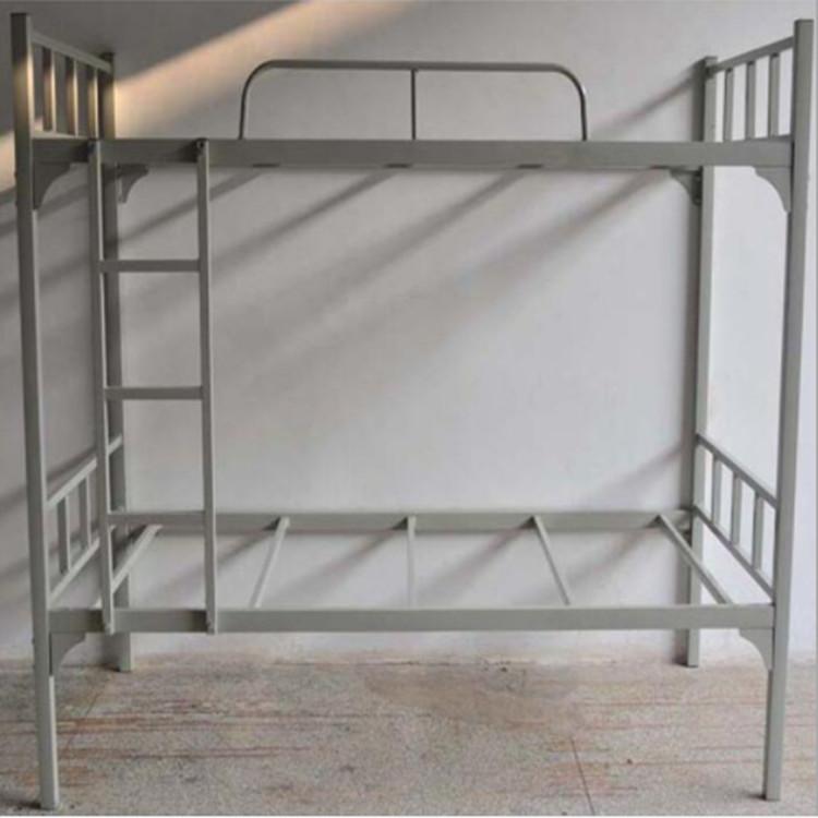 學生宿舍鐵架床 東莞康勝鐵床廠家 學生宿舍雙層鐵架床