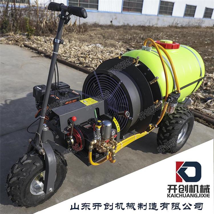 農用三輪打藥機 小型電動打藥機風送式噴霧打藥車廠家供貨