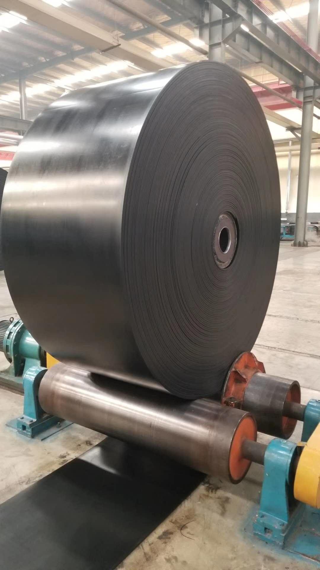 葫蘆島ST2000寬1400阻燃鋼絲繩芯輸送帶出廠價