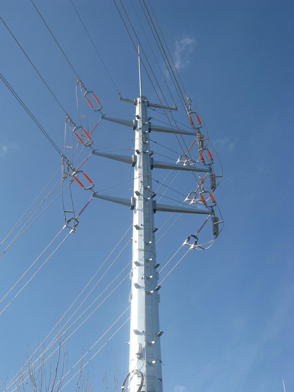 沈阳电力钢管杆