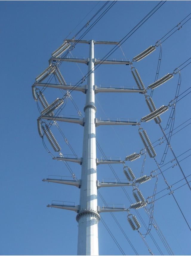 沈阳输电线路钢管杆