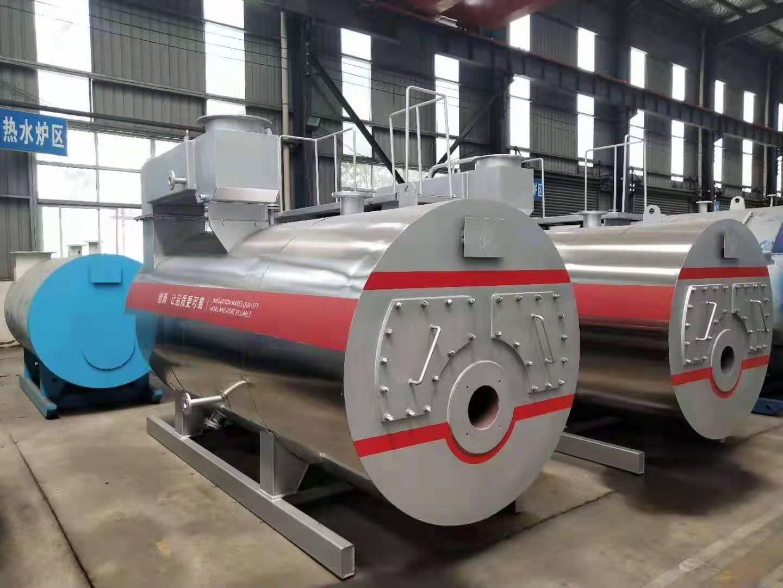 厂家供应全自动卧式4吨燃油气供暖热水锅炉系列