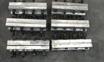 瀘州850寬提升帶鋁合金夾板經久耐用