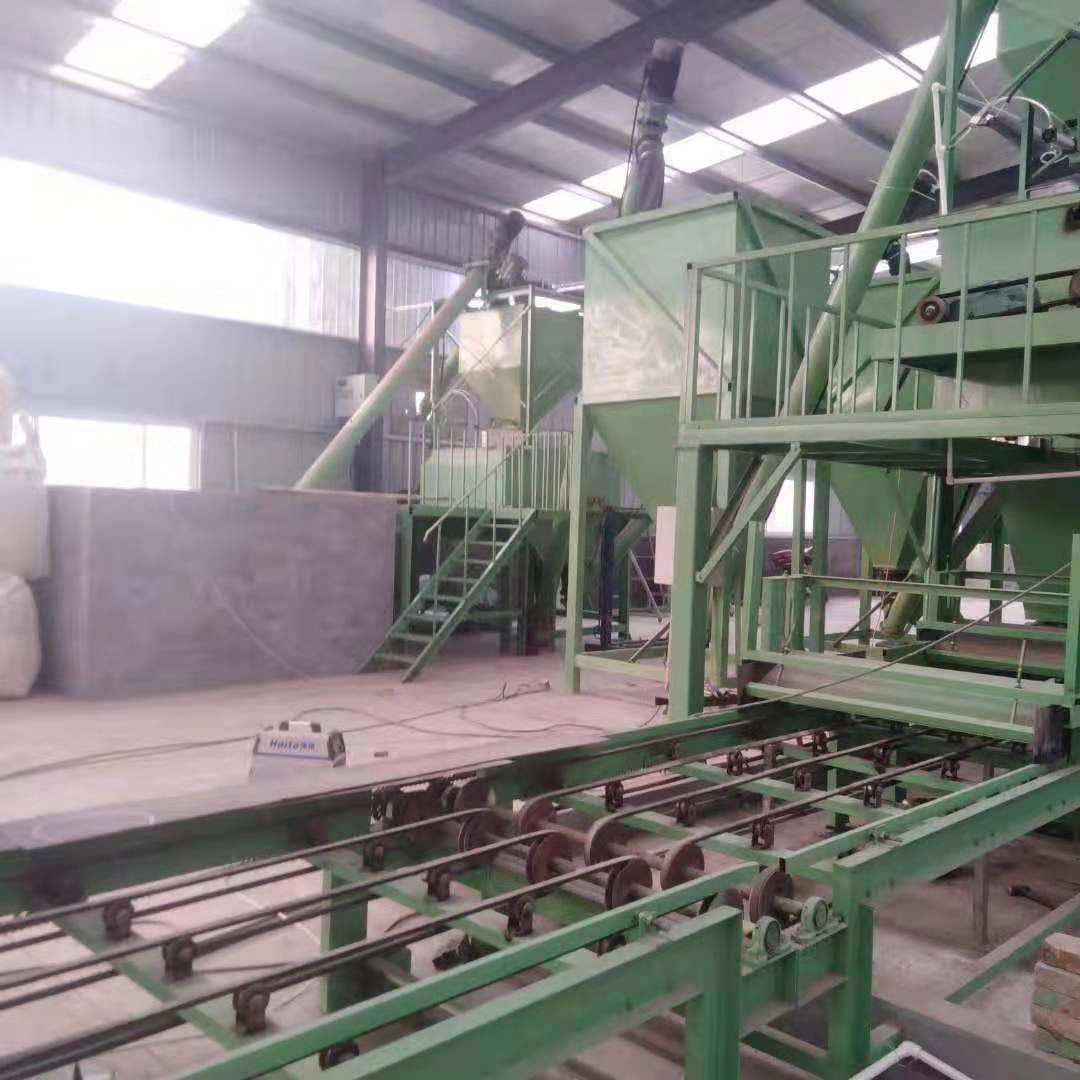 供應xcd-5外墻一體化板材生產線