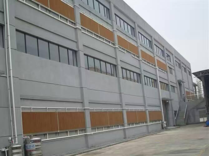 厂房降温水帘墙金华勇水帘墙工程设计