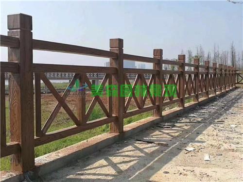 仿木欄桿仿石欄桿鑄造石欄桿橋梁欄桿安徽美森園林景觀工程限公司