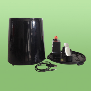 QS-1501 雨量传感器ABS塑料雨量计降水量降雨量
