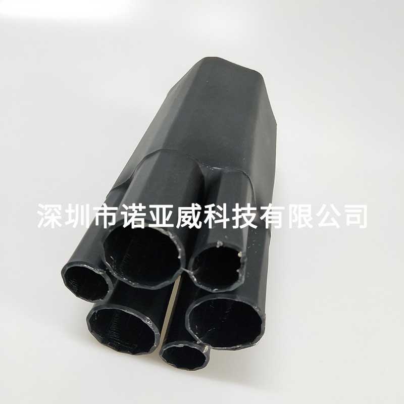 六芯指套,电缆分支用,内附热熔胶,热缩后抱紧力好不脱落