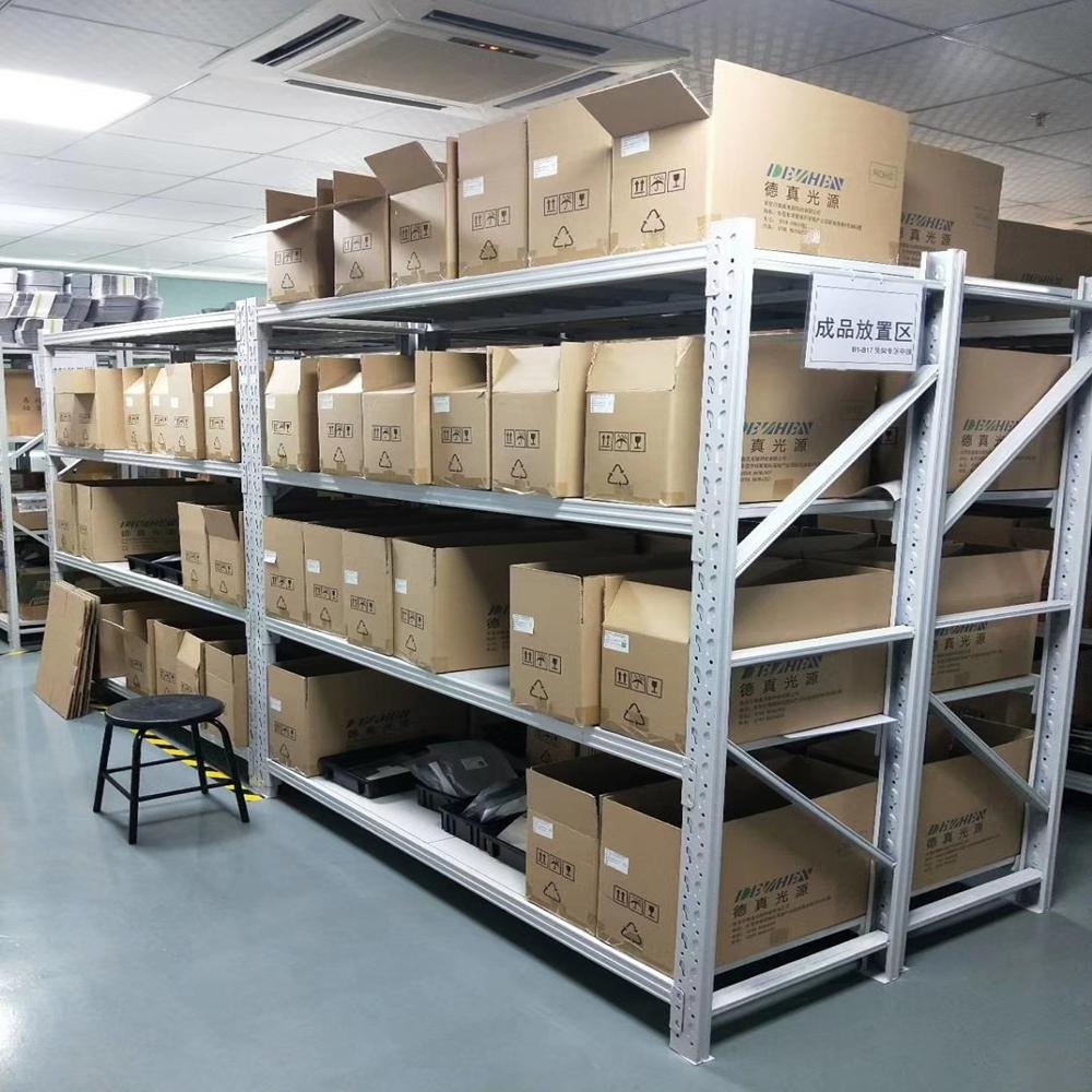 仓储库房货架重型货物架子轻中型服装家用组装置物架展示架多层