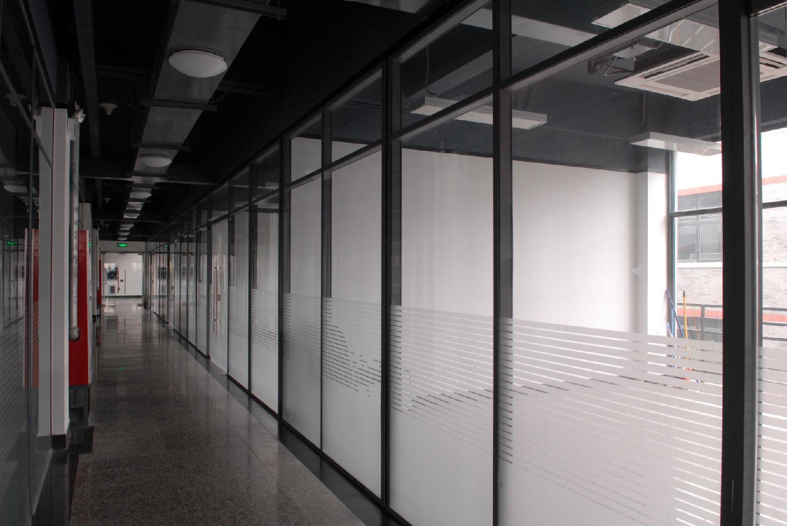 延安办公室玻璃隔断,延安百叶隔断厂家直销