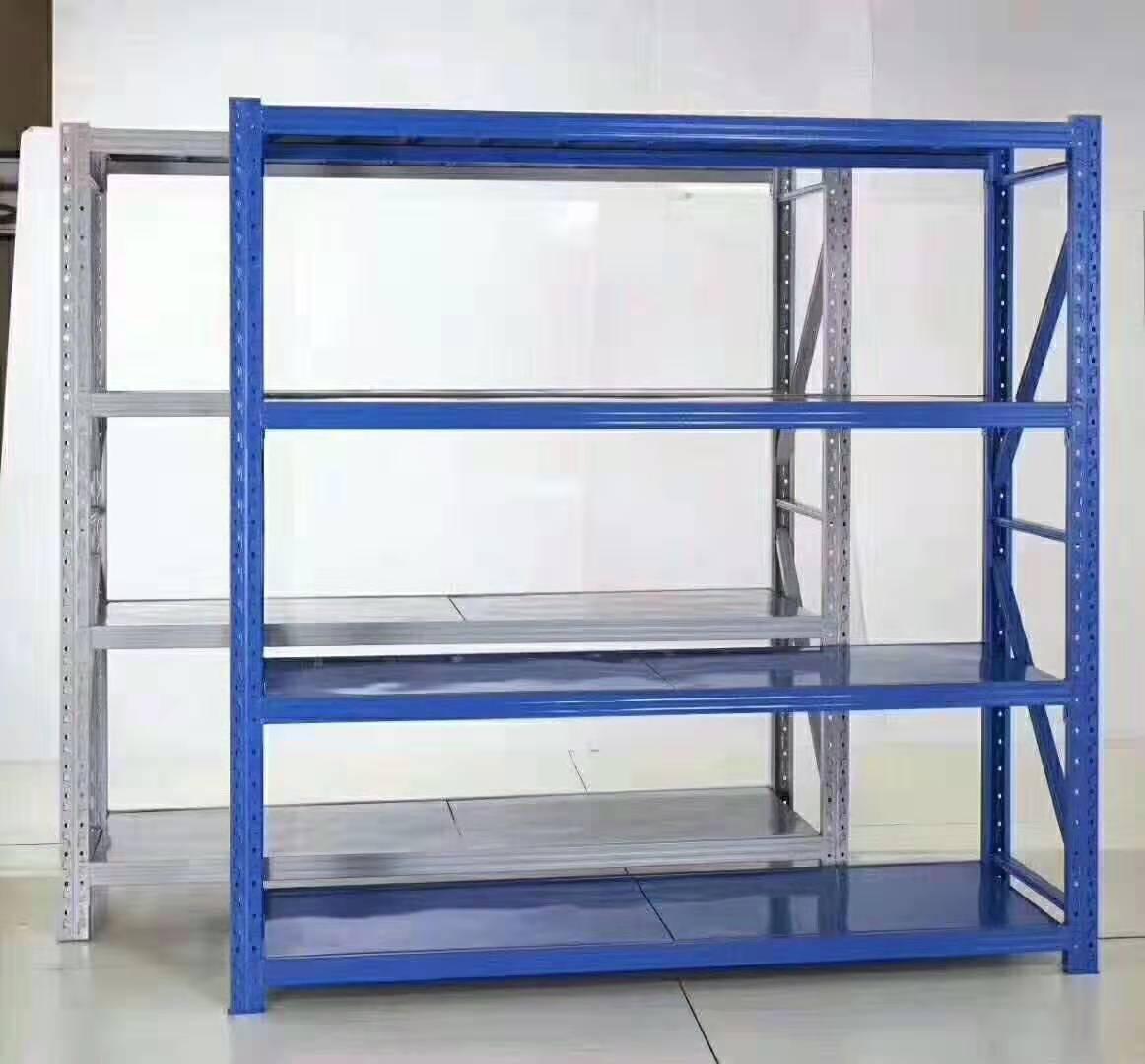 仓储库房货架重型货物架中型服装家用组装置物