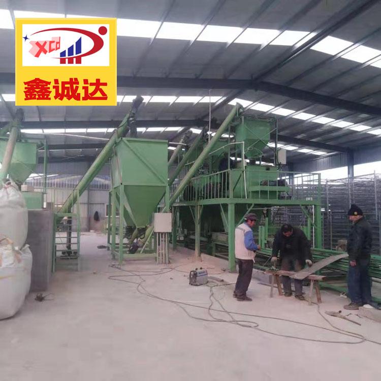 保溫結構一體化模板設備 鑫誠達 砂漿復合設備 免費提供技術