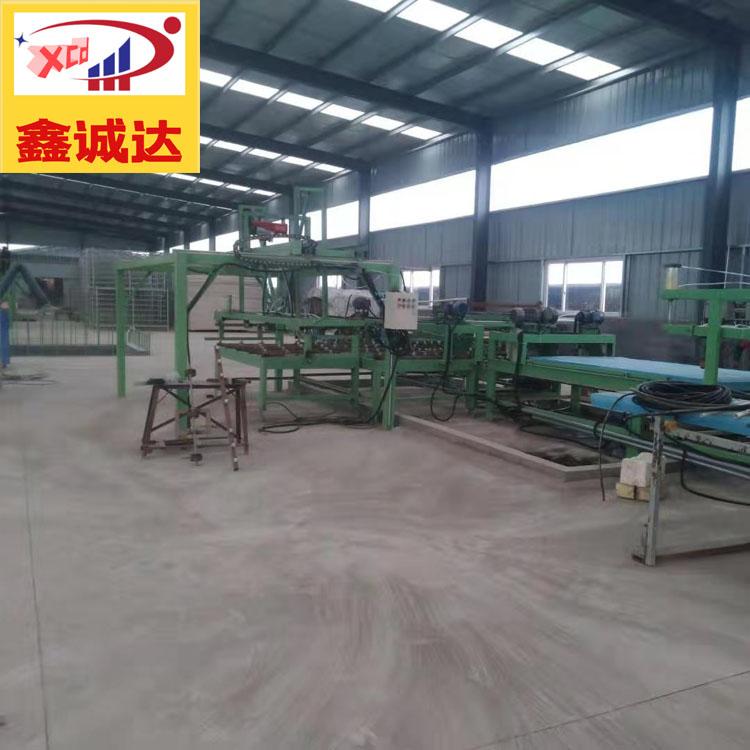 一體化建筑模板設備 鑫誠達 fs外模板生產線 施工流程