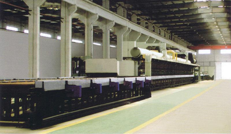 輥底爐,輥底式鋼管光亮熱處理爐-東豐爐業