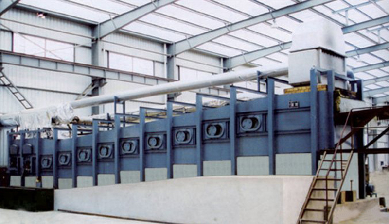 加熱爐,斜底式管坯加熱爐-東豐爐業