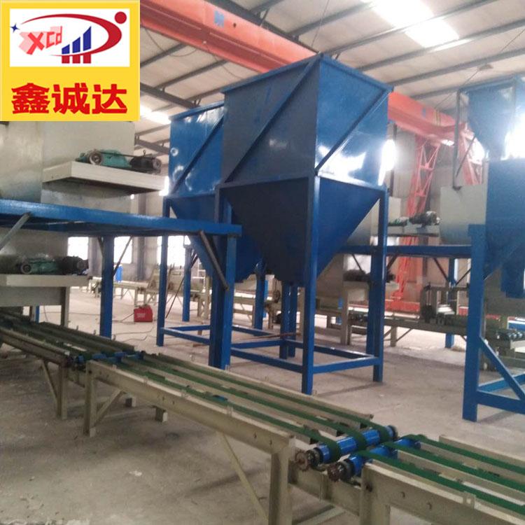 FS复合砂浆板生产线 鑫诚达 外模板生产线 操作简单