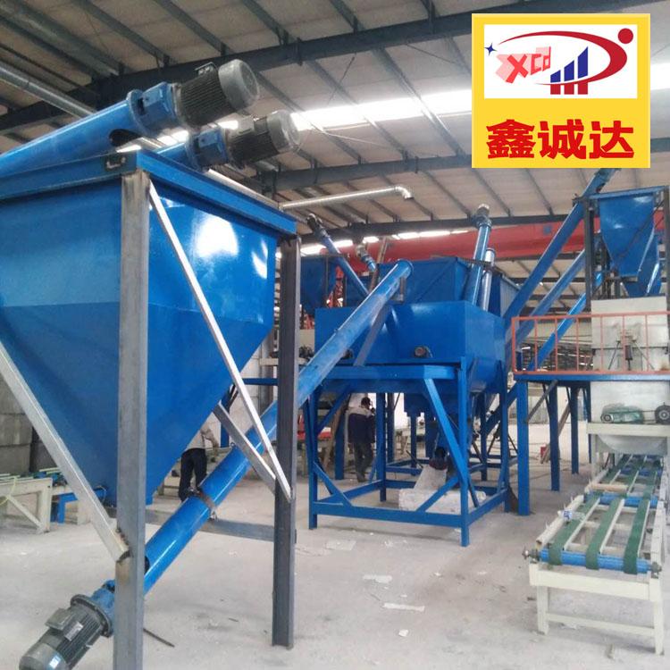 fs挤塑板复合砂浆设备 鑫诚达 保温板生产线 技术参数