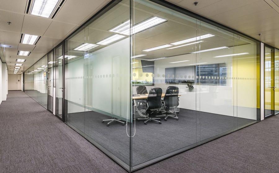 宝鸡玻璃隔墙 办公室隔断