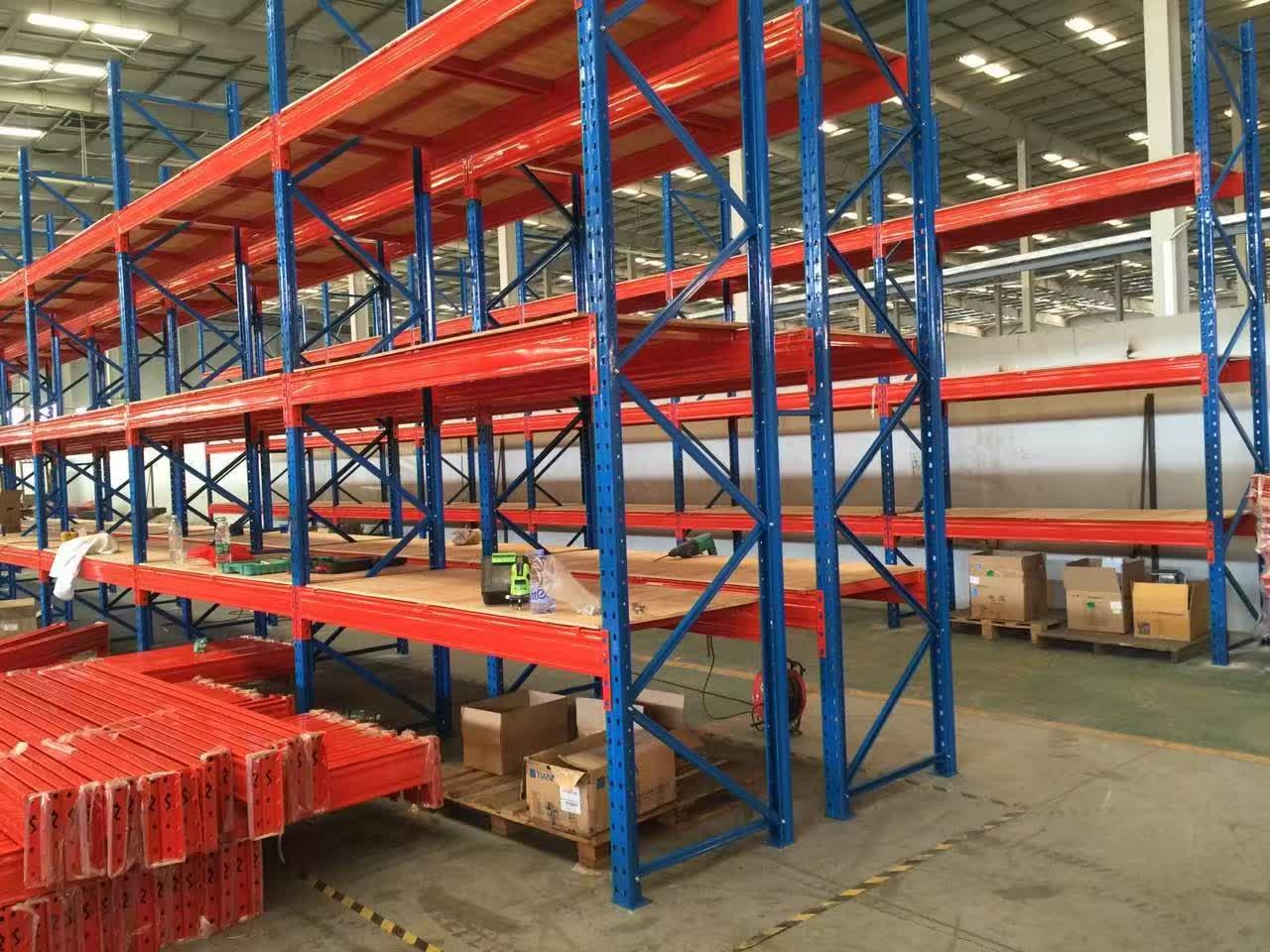 钢制货架厂房阁楼重型货架隔层仓储