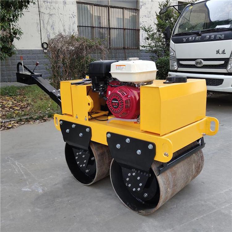 厂家供应全新压路机双驱双振双钢轮压路机