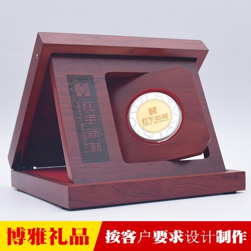 上市纪念币企业成功上市纪念品定制