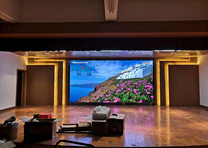 如何选择广州酒店P3全彩LED显示屏