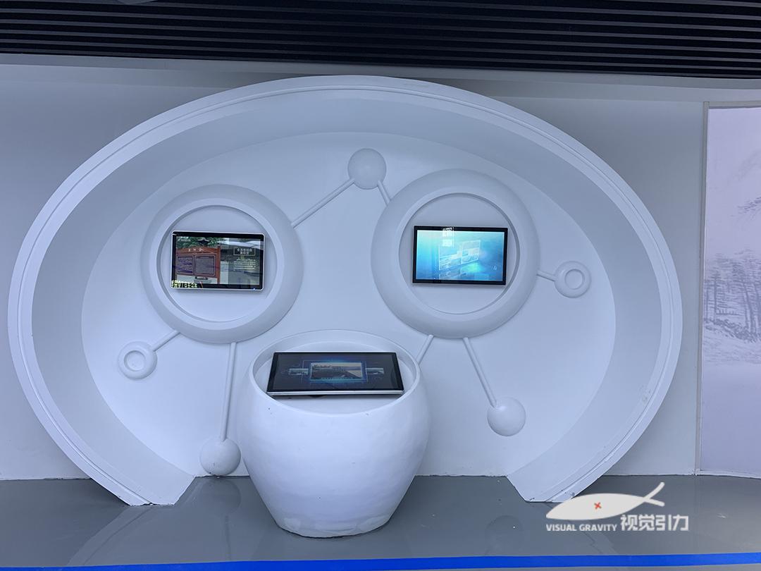 西安数字展厅设计,视觉引力设计加装修一站式服务