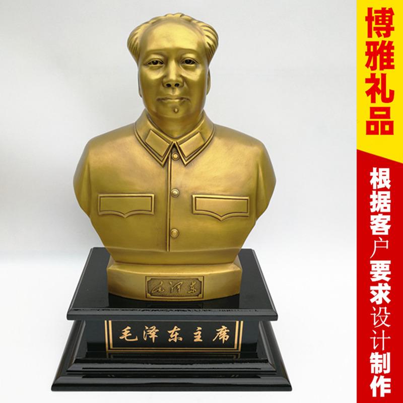 毛主席銅像 純銅毛主席銅像 銅像擺件 湖南旅游工藝品