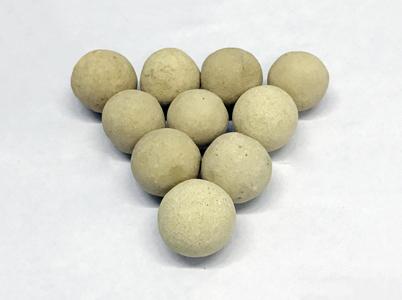 高溫煅燒氧化鋁球高鋁陶瓷蓄熱球